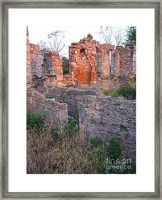 Ruins In Kentucky Framed Print