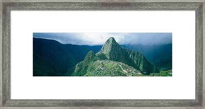 Ruins, Machu Picchu, Peru Framed Print by Panoramic Images