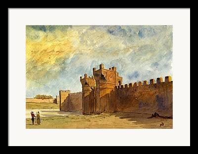 Rabat Framed Prints