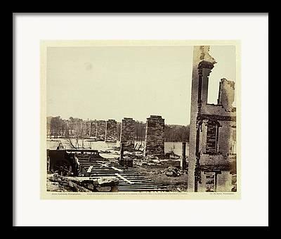 Civil War Site Framed Prints
