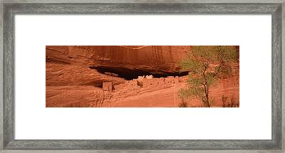 Ruins Of House, White House Ruins Framed Print by Panoramic Images