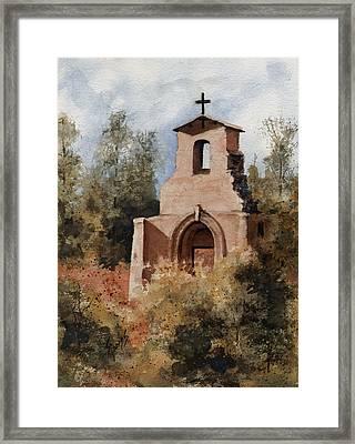 Ruins Of Morley Church Framed Print by Sam Sidders