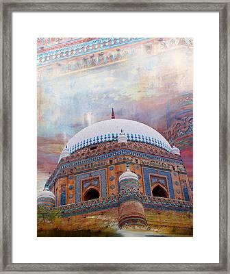 Rukh E Alam Framed Print