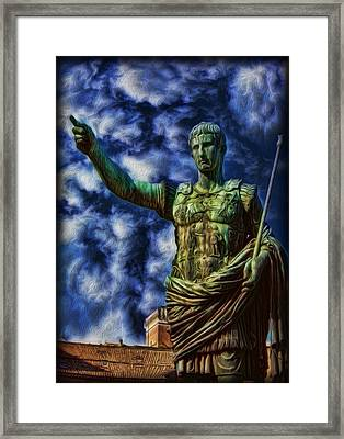 Ruler Of The Empire Framed Print by Lee Dos Santos