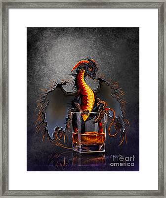 Rum Dragon Framed Print