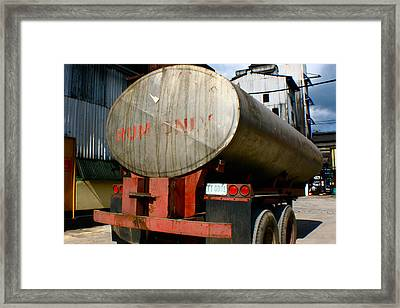 Framed Print featuring the photograph Rum Only by Jon Emery