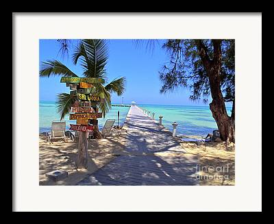 Cayman Framed Prints