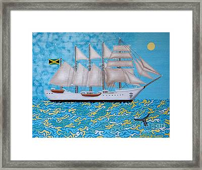 Rum Runner Framed Print by Anthony Morris
