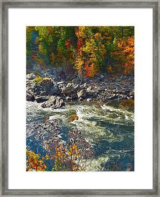 Rumford Falls 15 Framed Print