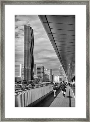 Run Across Viena Framed Print