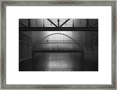Run Away Framed Print