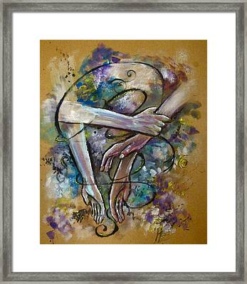 Run Away Come Back Framed Print by Jennifer Gaida