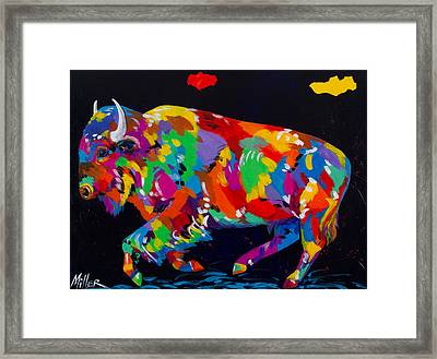 Run For Freedom Framed Print by Tracy Miller
