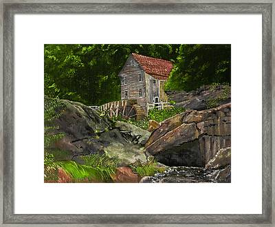 Run Of The Mill Framed Print by Leo Gehrtz