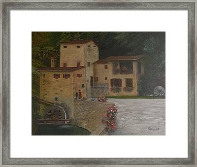Run Of The Mill Framed Print by William Stewart