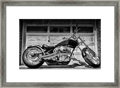 Run With The Pack Framed Print