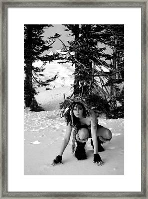 Run With Wolves Framed Print by Nyla Alisia