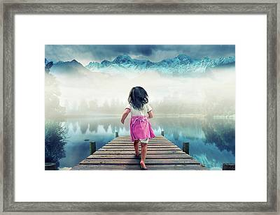 Runaway Framed Print by Muhammad Munir
