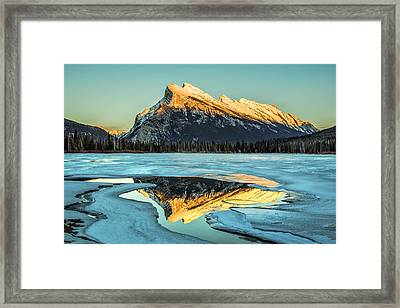 Rundle Reflection Framed Print by Levin Rodriguez