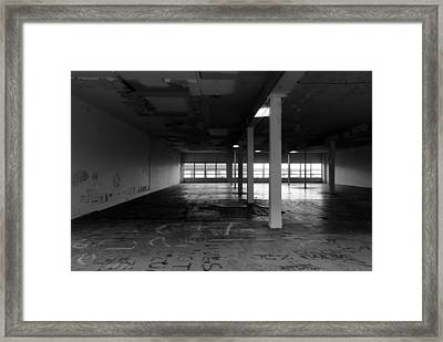 Rundown Framed Print by John Rossman