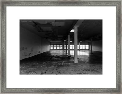 Rundown Framed Print