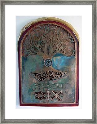 Runes For Restoration Framed Print