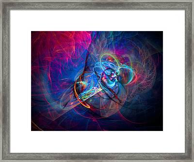 Runner Framed Print