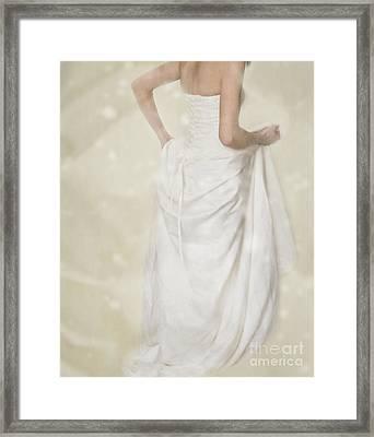 Running Away Framed Print
