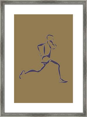 Running Runner8 Framed Print by Joe Hamilton
