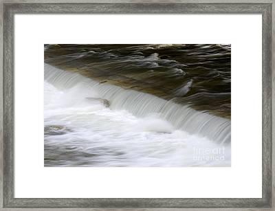Running Water Framed Print by Sami Sarkis
