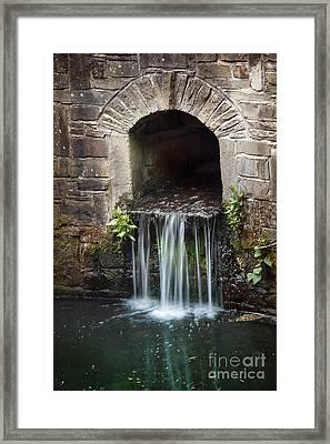 Running Water Framed Print by Svetlana Sewell