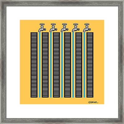 Running Waters Framed Print