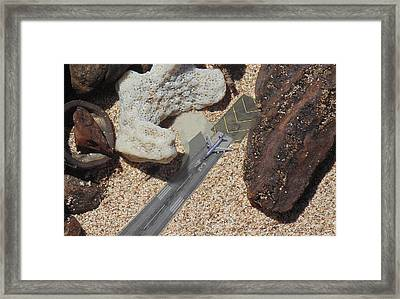 Runway 34 Framed Print by Marcello Cicchini