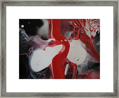 Ruptured Artery Framed Print