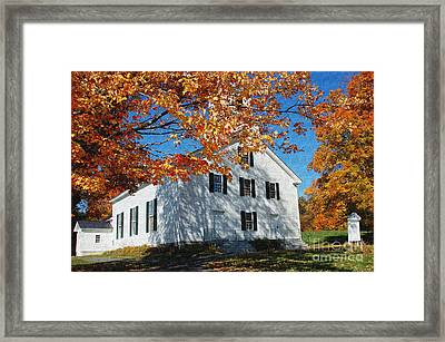 Autumn Worship Framed Print