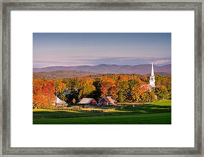 Rural Attraction Framed Print by Michael Blanchette