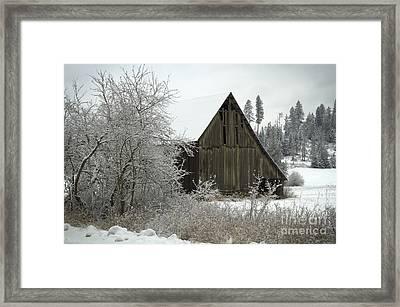 Rural Barn Framed Print by Idaho Scenic Images Linda Lantzy