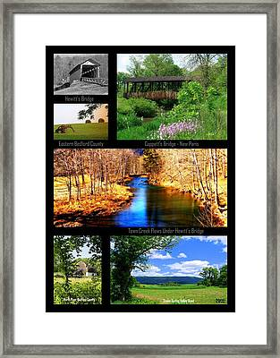 Rural Bedford County Framed Print by Mary Beth Landis
