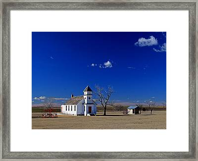 Rural Church Framed Print by Christopher McKenzie