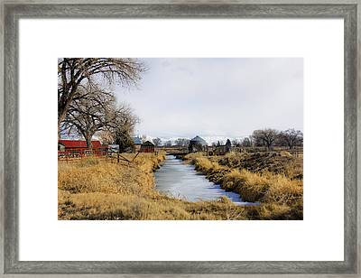 Rural Colorado Framed Print