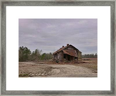 Put Out By The Roadside Framed Print