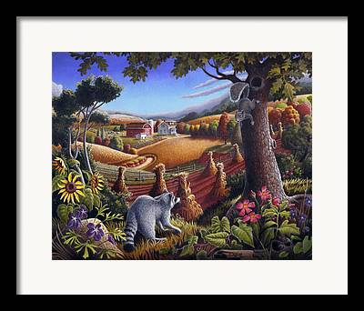 Tennessee Farm Paintings Framed Prints
