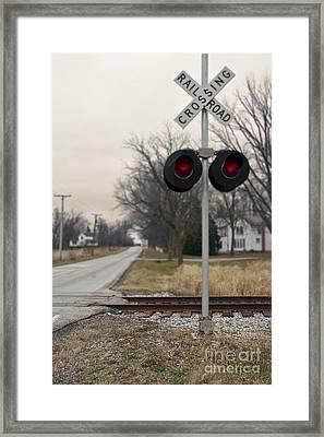 Rural Crossings Framed Print by Margie Hurwich