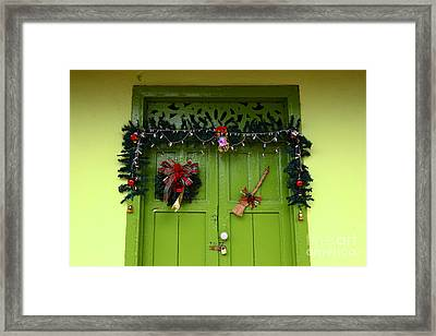 Rural Decorations Framed Print by James Brunker