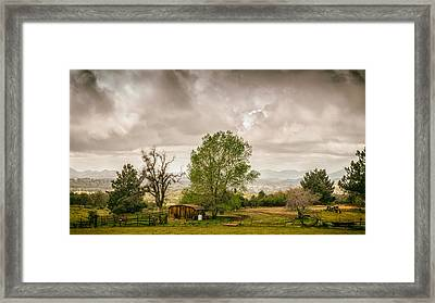 Rural East County Framed Print by Joseph Smith