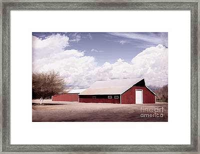 Rural Highway 99 Framed Print