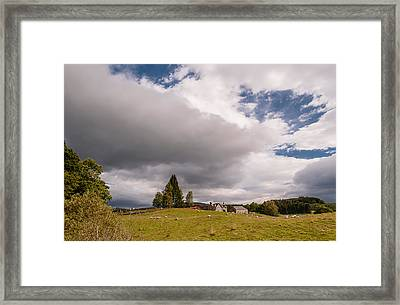 Framed Print featuring the photograph Rural Idyll by Sergey Simanovsky