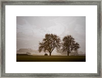 Framed Print featuring the photograph Rural Landscape #4 by Antonio Jorge Nunes