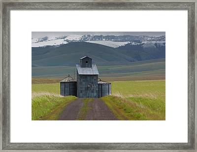 Rural Landscape, Oregon, Usa Framed Print