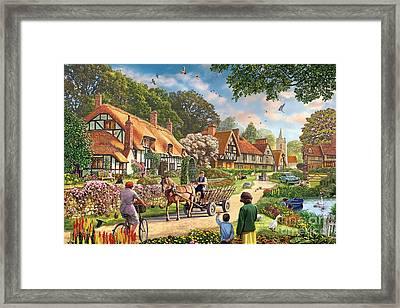 Rural Life Framed Print by Steve Crisp